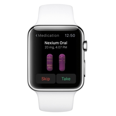 WebMD Apple Watch app