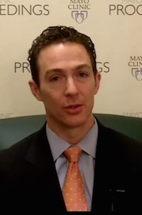 Dr. Jay Widmer discusses the study in a Mayo Clinic video.