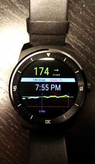 Dexcom CGM app is available, unofficially, for Android Wear